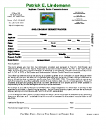 Soil Erosion Waiver Application