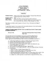 December 2014 BOT Minutes