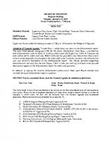 January 2015 BOT Minutes