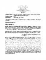 June 12, 2015 BOT Special Meeting Minutes