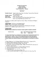 June 2014 BOT Minutes