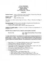 June 2015 BOT Minutes