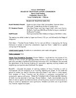 March 2015 Joint Meeting BOT Minutes