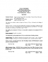 March 26 2015 Budget Public Hearing Minutes