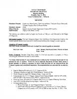May 2015 BOT Minutes