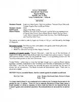 July 2015 BOT Minutes