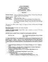 December 2015 BOT Minutes