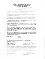 Resolution 17-03 Recognition of Ilene Thayer