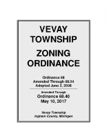Vevay Twp Zoning Ord – Through Ord. 68.40 5-10-17