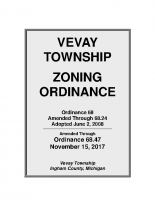 Vevay Twp Zoning Ord – Through Ord. 68.47 11-15-17