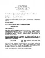 VEVAY TWP Budget03-01-18