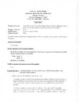 ZBA Minutes 12-7-2015
