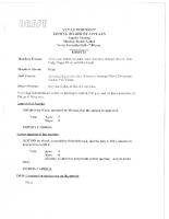 ZBA Minutes 3-3-2014
