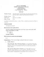 ZBA Minutes 6-15-2015