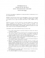 RES #19-01 Poverty Guidelines Resolution