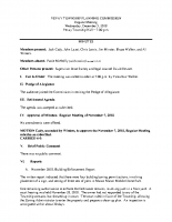December 5 2018 Planning Commission minutes