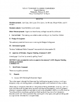 February 6 2019 Planning Commission minutes