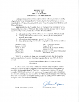 RESOLUTION 18-12 APPROVED BOT MTG DATES 2019