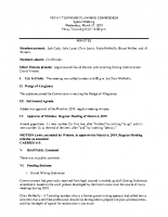 March 27 2019 Planning Commission minutes