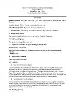 June 5 2019 PC Minutes