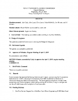 May 8 2019 Planning Commission minutes
