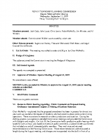 September 11 2019 Planning Commission minutes