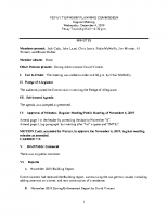 December 4 2019 Planning Commission minutes