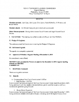January 8 2020 Planning Commission minutes