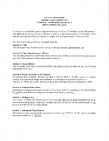 Resolution 20-03 General Appropriations Act
