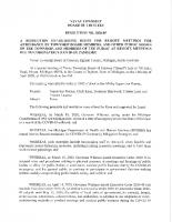 Resolution 20-05 Remote Meetings