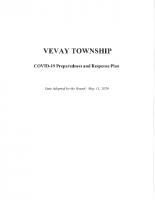 COVID-19 Preparedness & Response Plan