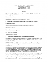 September 17 2020 Work Session Planning Commission minutes