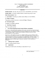 November 5 2020 Planning Commission minutes