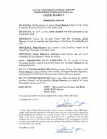 Resolution 20-09 Recognition of Jesse Ramey