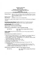 Board of Trustees Minutes 2-10-21