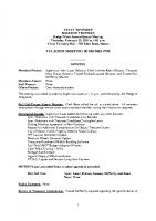 BudgetSpecial Meeting 2.25.21