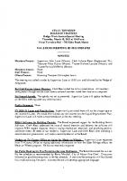 BudgetSpecial Meeting 3.18.21