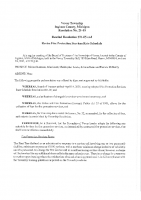 Resolution 21-10 to Rescind 21-05 and Revise Fire Rates