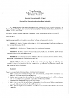 Resolution 21-12 Fire Protection Services