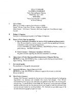 Vevay Twp Planning Commission 070721 Minutes