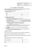 Lot Line Adjustment Form